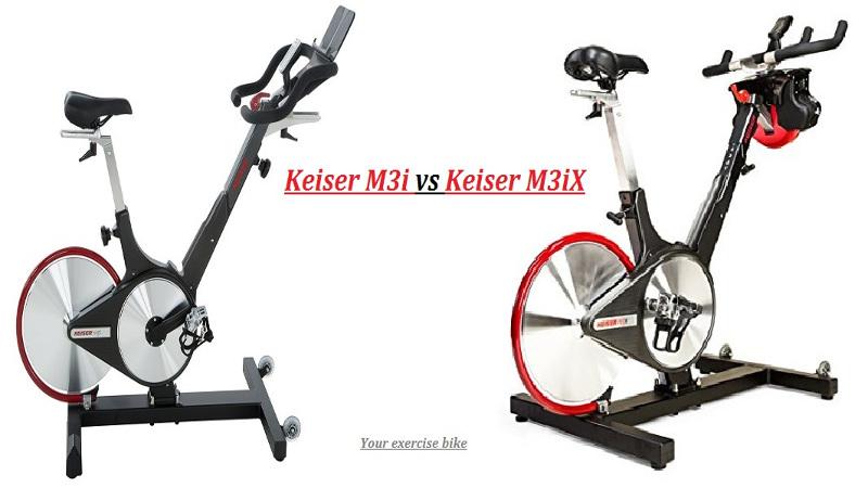Keiser M3 vs M3 Plus and M3i vs M3iX