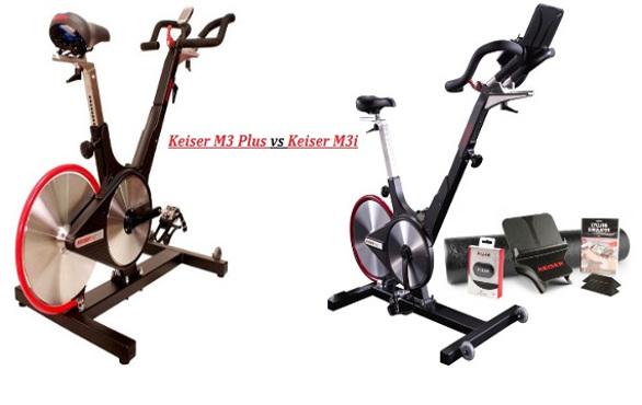 Keiser M3 vs M3 plus and Keiser M3i vs M3ix