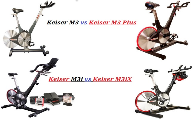 Keiser m3 vs Keiser M3 Plus Keiser M3i vs Keiser M3ix