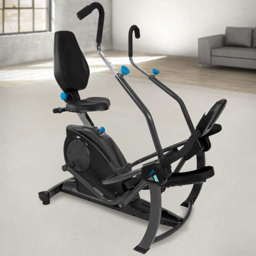 Teeter FreeStep Recumbent Cross Trainer and Elliptical overview