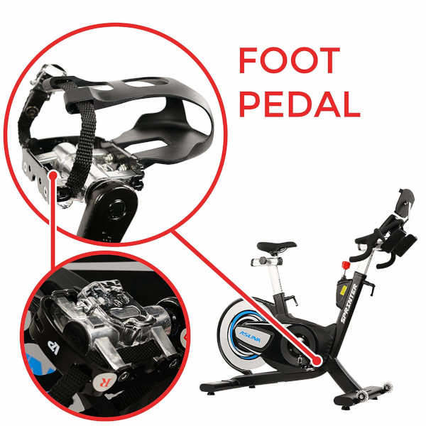 spin bike dual sided spd pedals