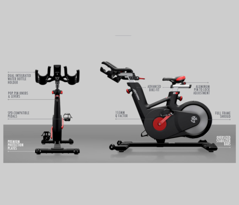 Life Fitness Ic5 Indoor Cycle Review Your Exercise Bike