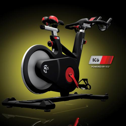 Life Fitness IC6 powered by ICG