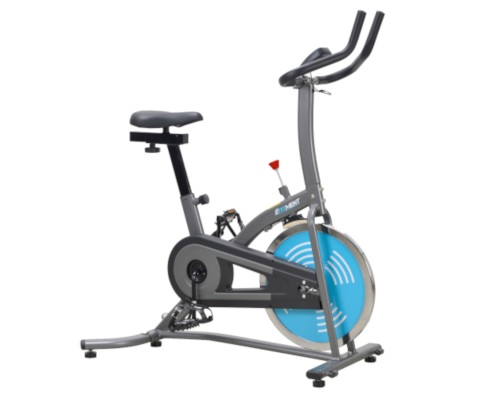 EFITMENT IC007 BELT DRIVE INDOOR CYCLING TRAINER EXERCISE BIKE
