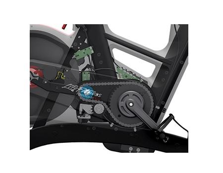IC8 spin bike drivetrain