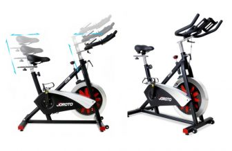 Joroto magnetic indoor cycling bike review