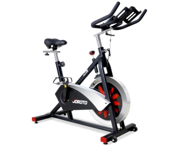 Joroto magnetic indoor cycling bike trainer
