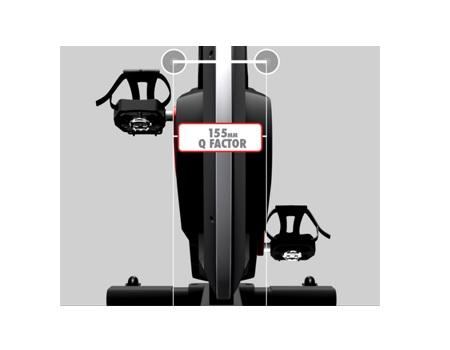 Life Fitness IC8 indoor bike pedals