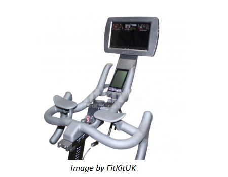Life Fitness IC8 with MyRide tablet