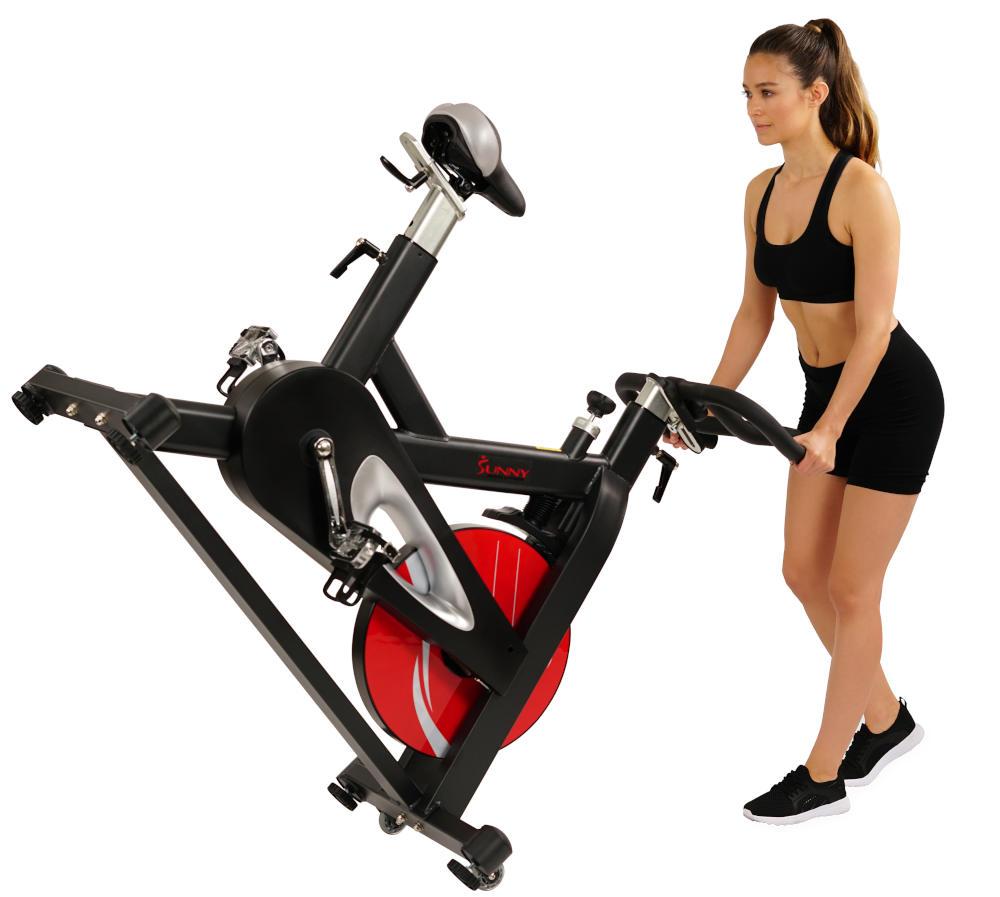 d2da61bbf68 Sunny Health Fitness SF-b1714 Evolution Pro Indoor-Cycling Bike Review