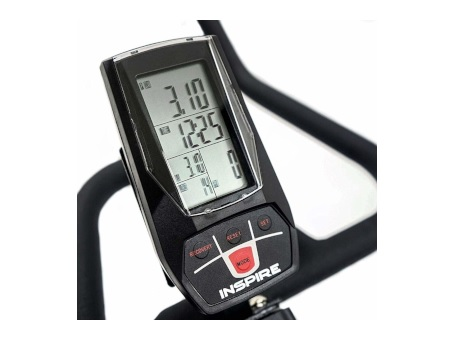 Inspire Fitness spin bike RPM monitor