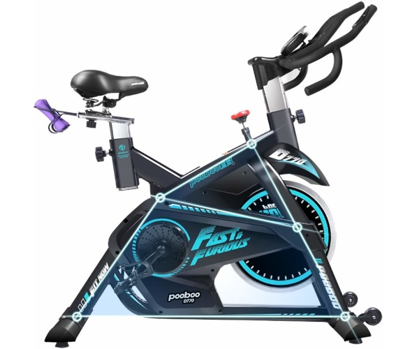 Pooboo Pro Indoor Cycling Bike Review L Now D770 Pros