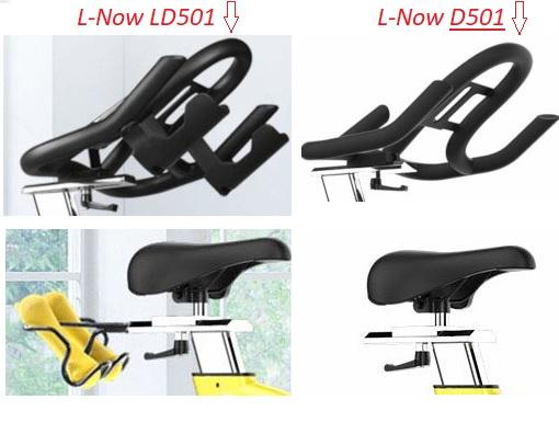 LD-501 seat and handlebars