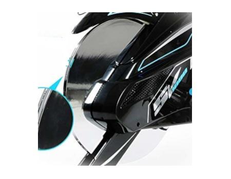 L Now spin bike flywheel