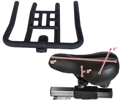 Sunny Fitness SF-B1805 seat handlebars