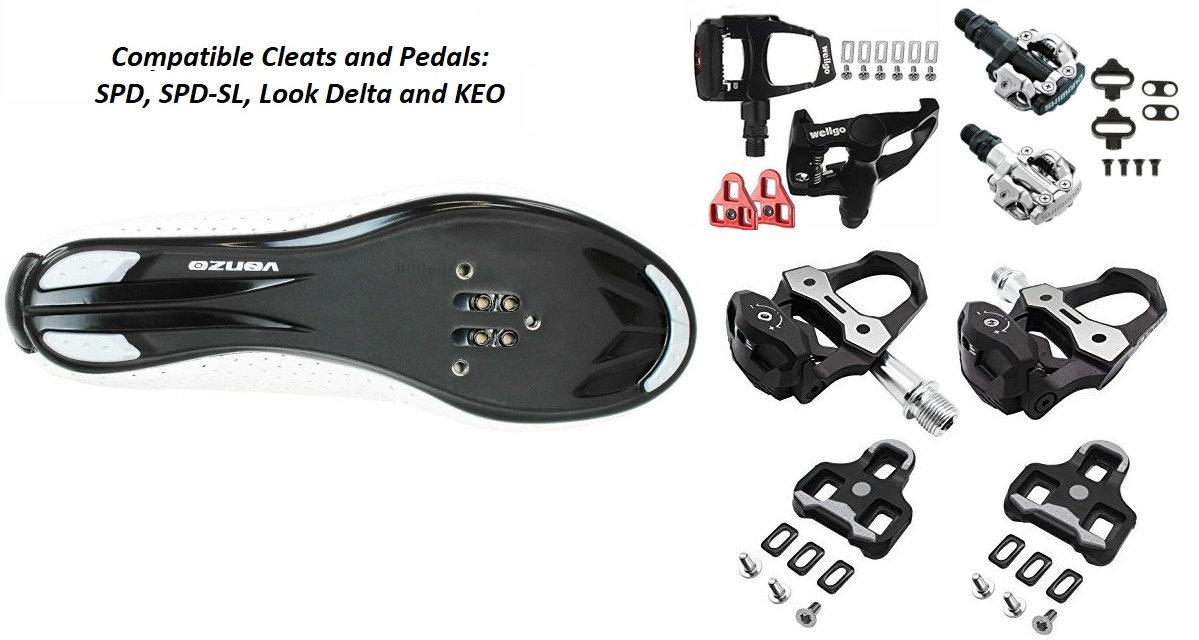 Look Delta mens indoor cycling shoes