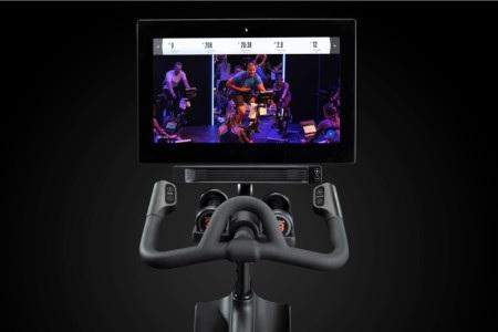 NordicTrack S22i spin bike monitor