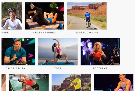 iFit subscription and classes