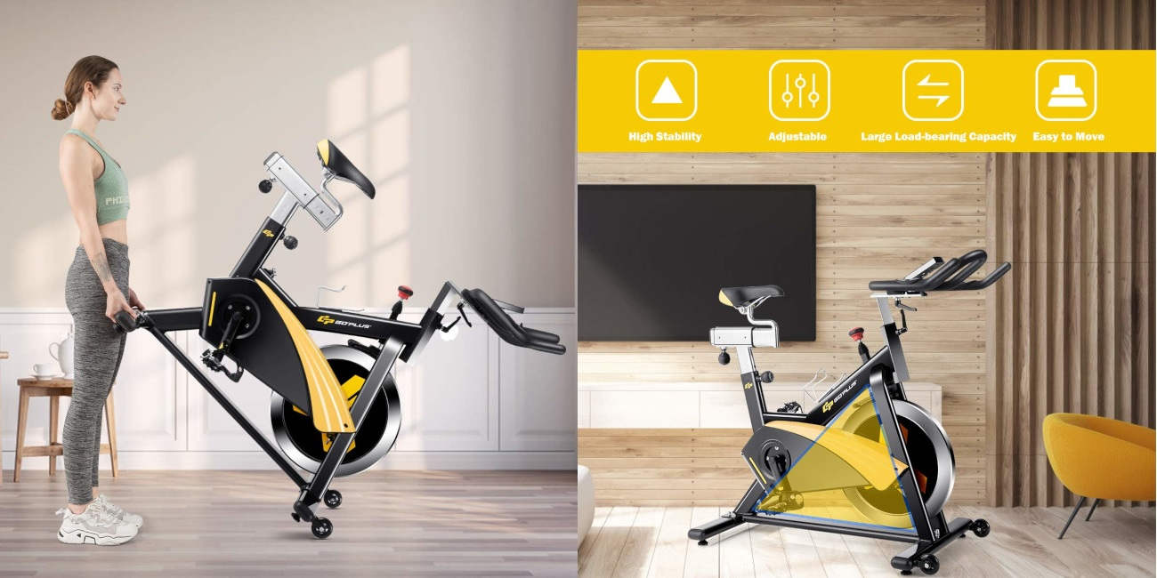Goplus magnetic exercise bike review