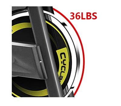 Cyclace indoor bike flywheel