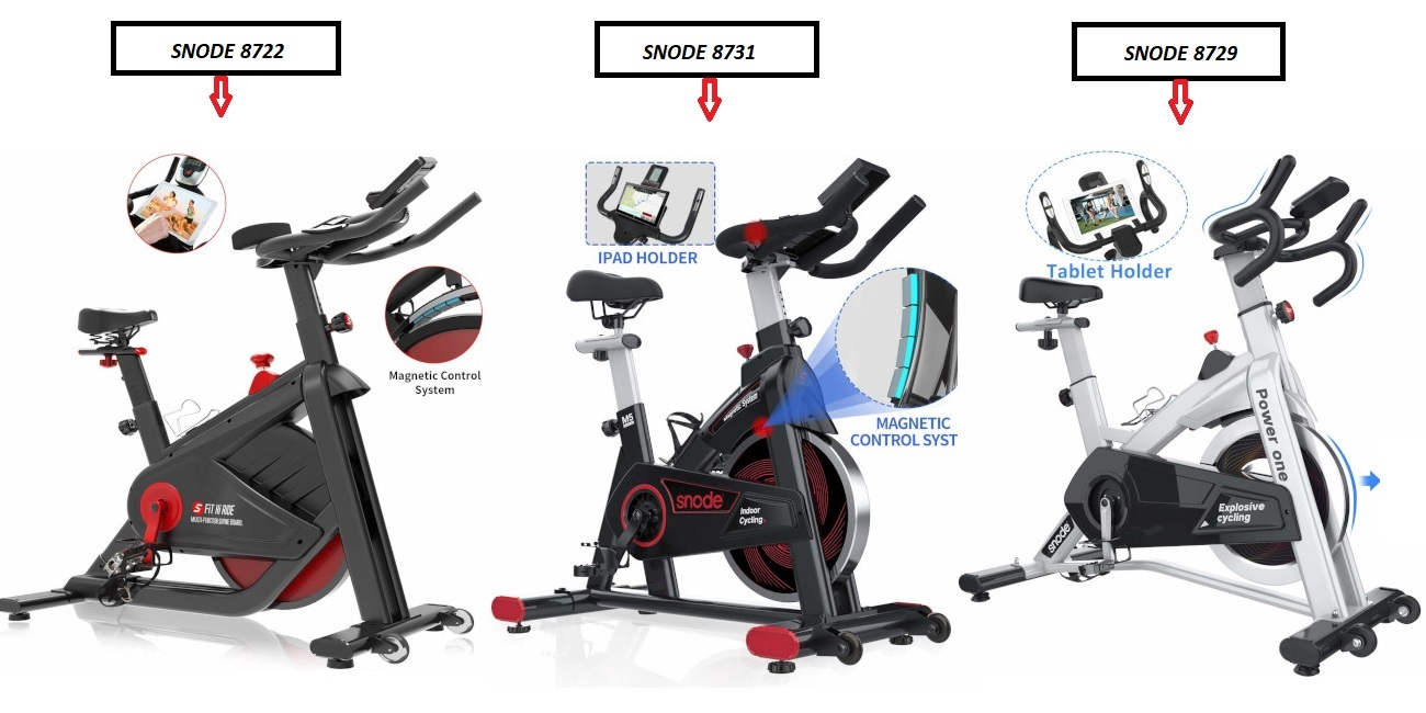 Snode Fitness indoor cycling bikes comparison