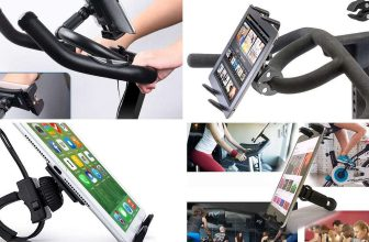 best exercise bike ipad tablet holders