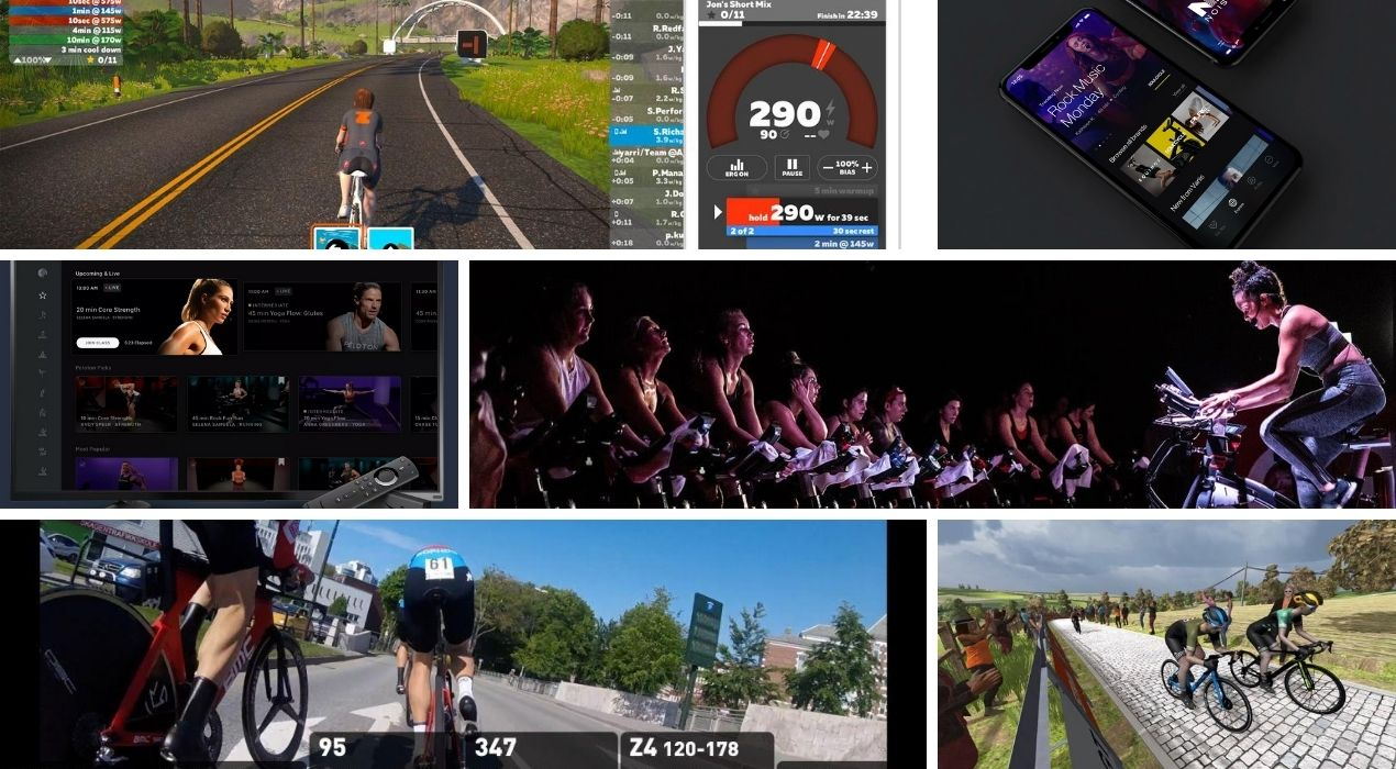 best indoor cycling apps