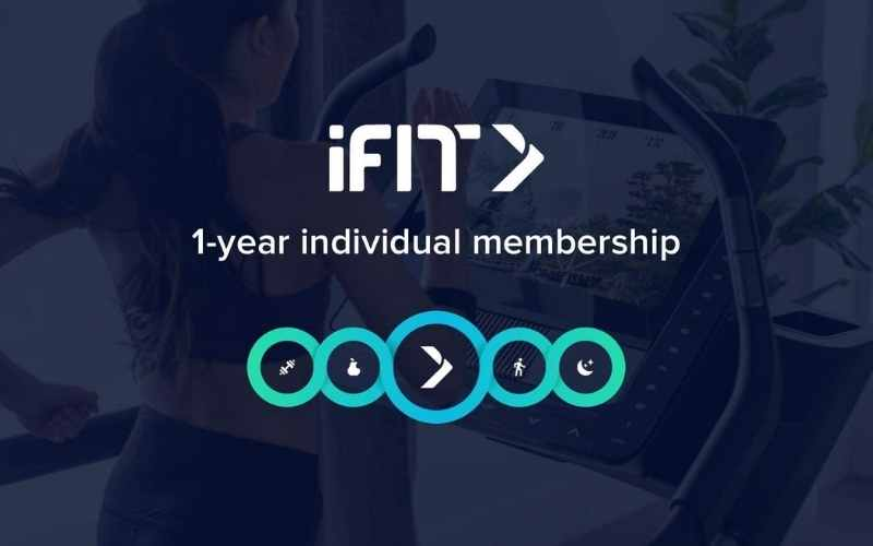 iFit indoor cycling application