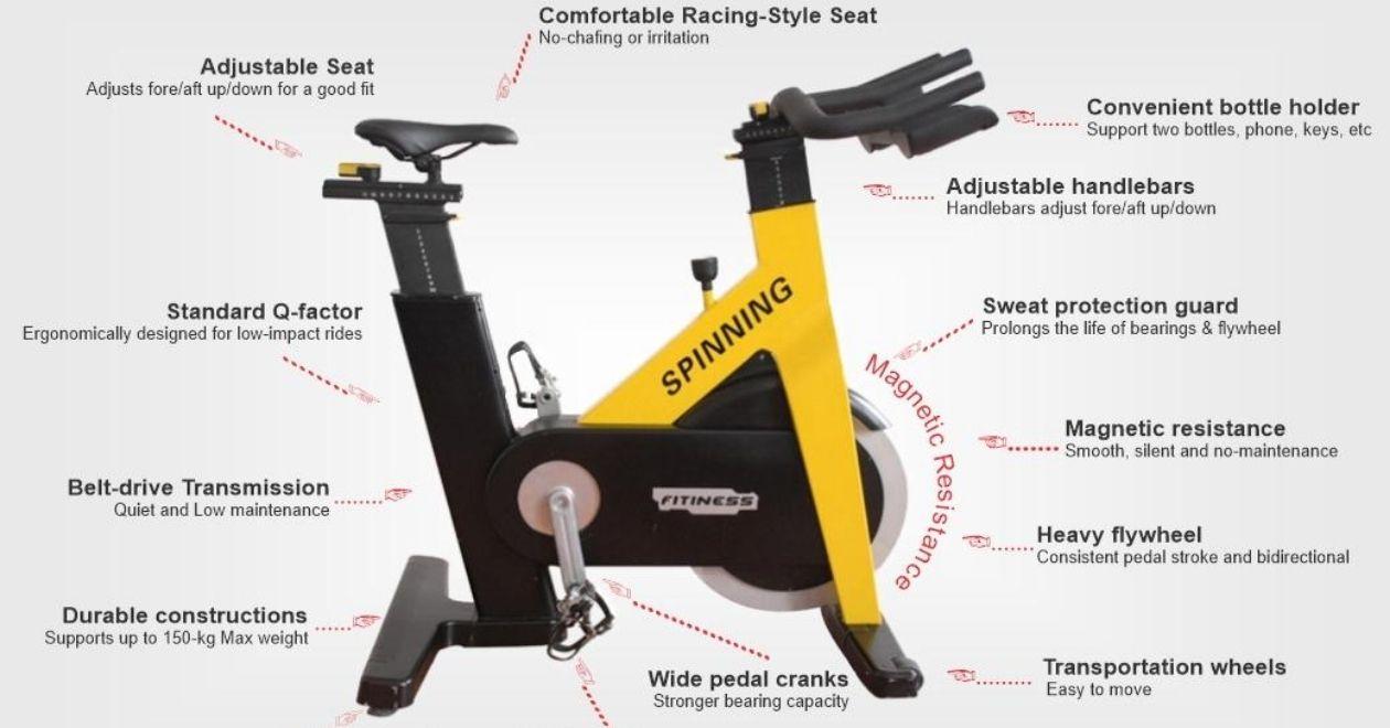 spin bike maintenance