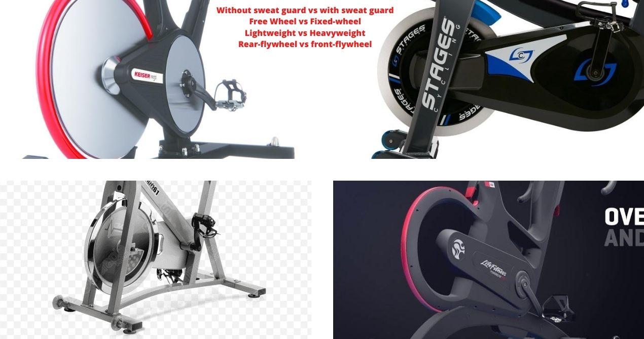 spin bike flywheel