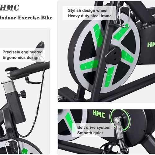 HMC spin bike resistance