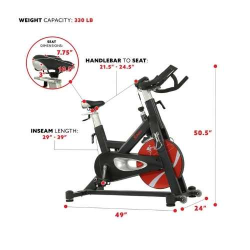 Sunny Health Fitness SF-B1986 Specifications