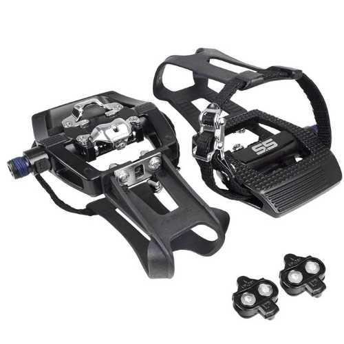 Schwinn-Fitness AC Sport Carbon Blue pedals