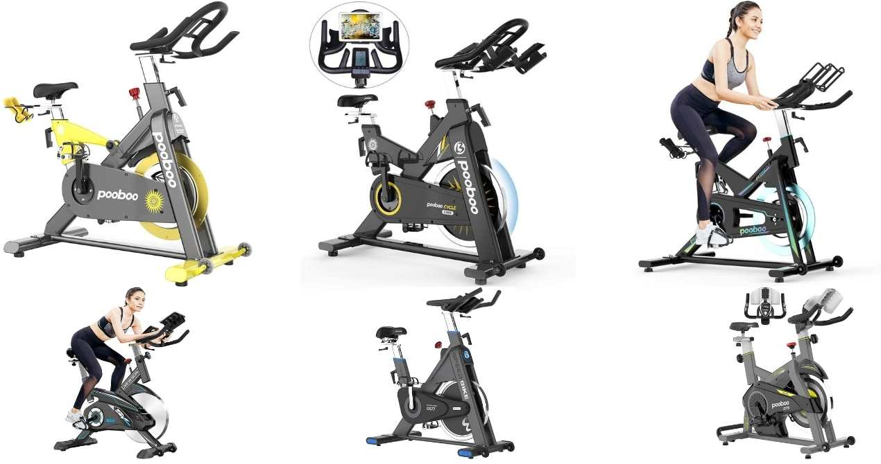 pooboo indoor cycling bike reviews