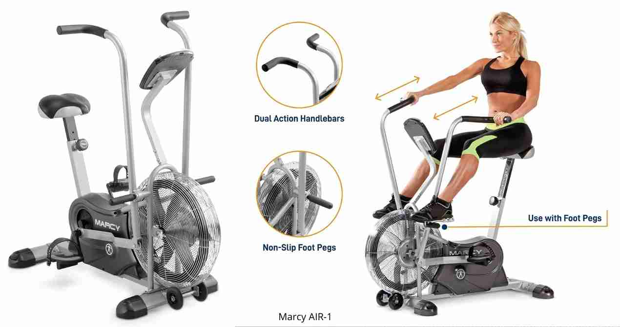 Marcy Air-1 Bike Review