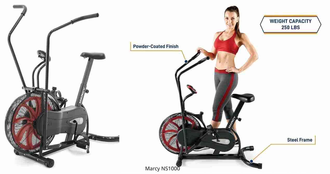 Marcy NS-1000 Air bike review
