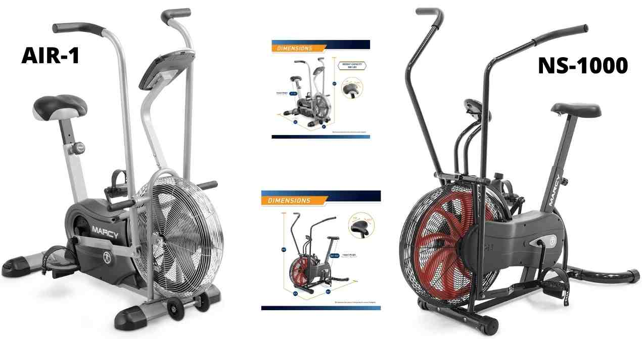Marcy air bikes comparisons