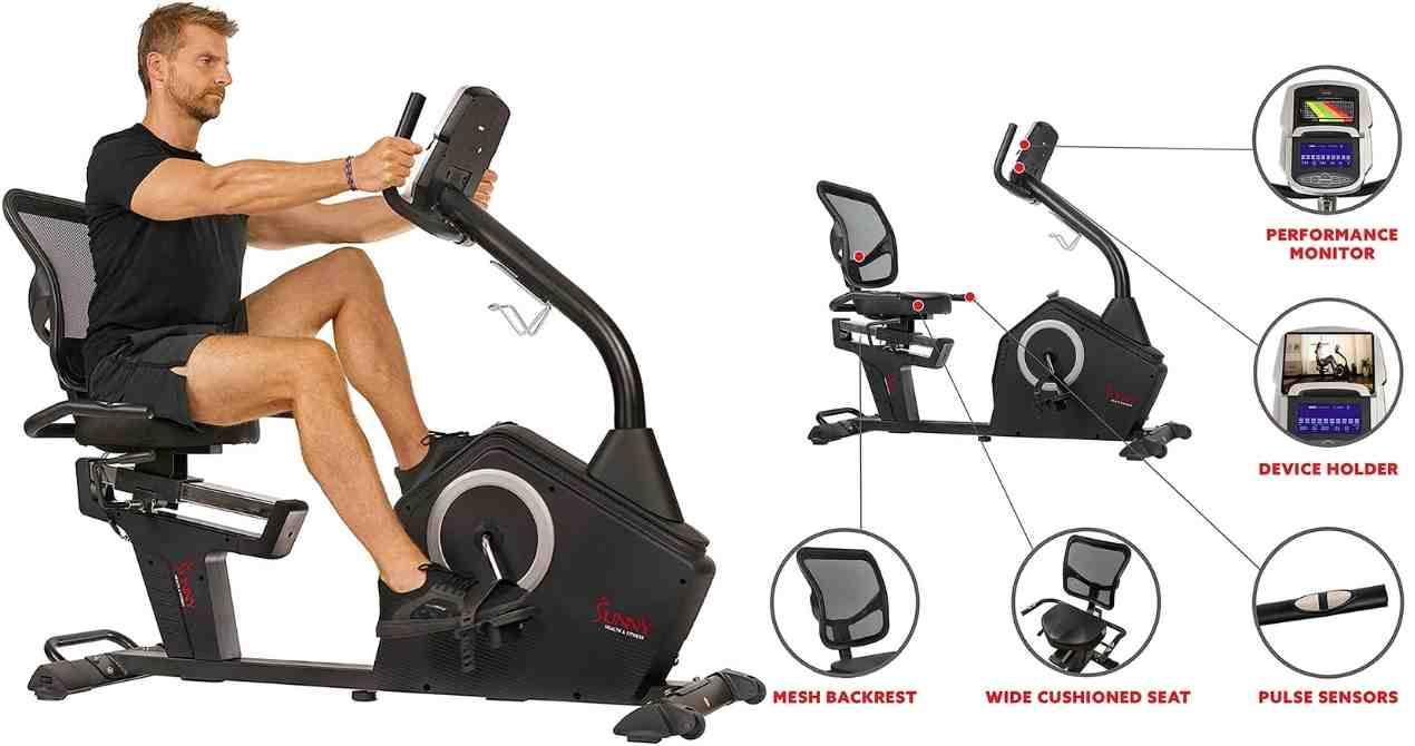 Sunny SF-RB4850 Exercise Recumbent Bike Review