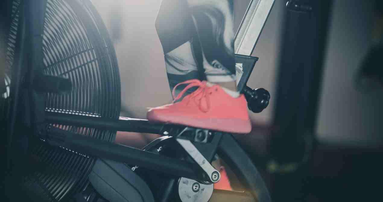 air bike pedal guide