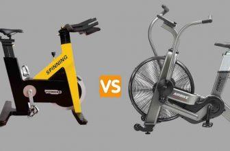 spin bike vs air bike