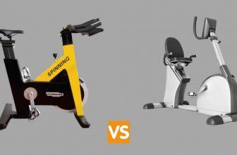 spin bike vs recumbent bike