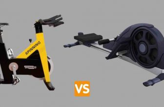 spin bike vs rowing machine